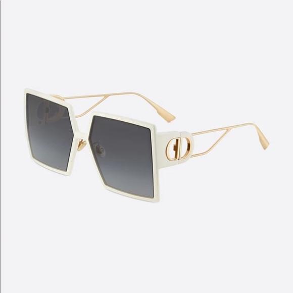 Dior 30MONTAIGNE Ivory Square Sunglasses